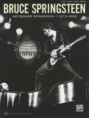 Bruce Springsteen Keyboard Songbook 1973-1980 By Alfred Publishing (COR)